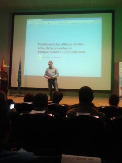 Presentación AER con Ricardo Lop