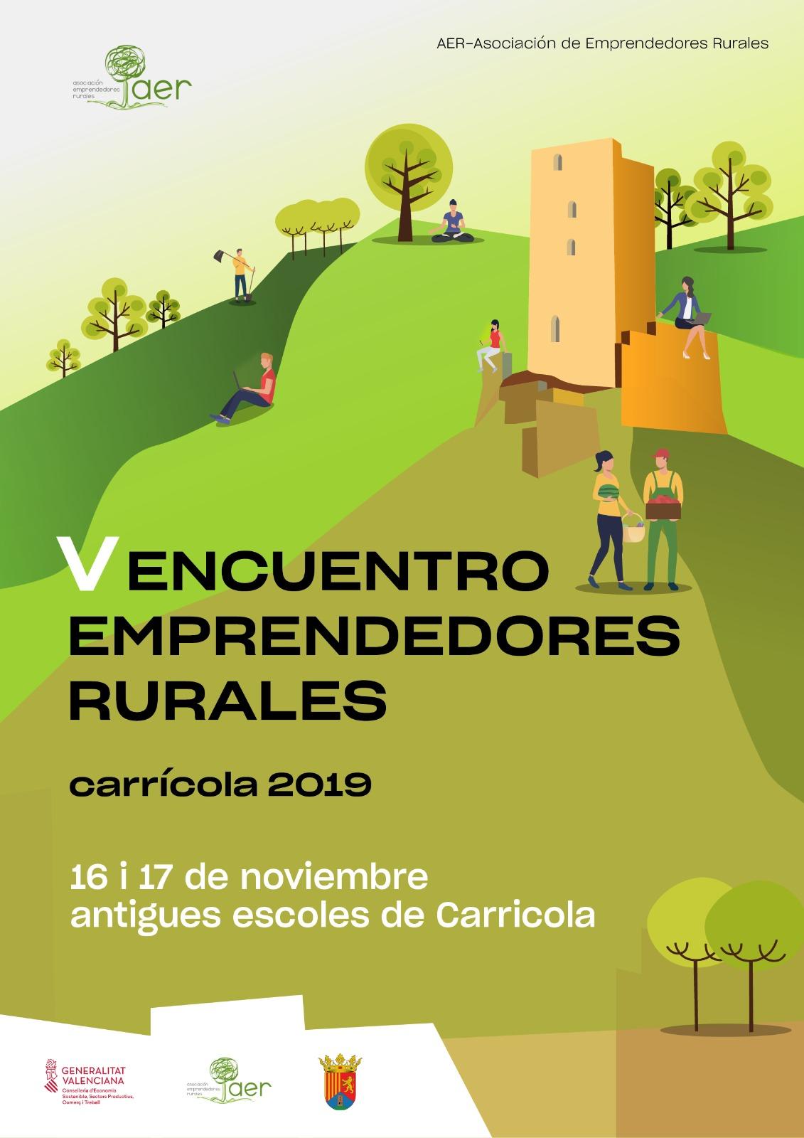 Programa V Encuentro AER – Oportunidades de Emprendimiento en el Entorno Rural